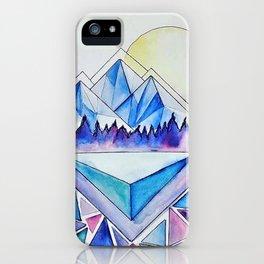 Rockies at Dusk iPhone Case