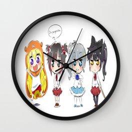 Himouto! Umaru-chan 2 Wall Clock