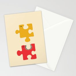 Puzzle Monster Stationery Cards