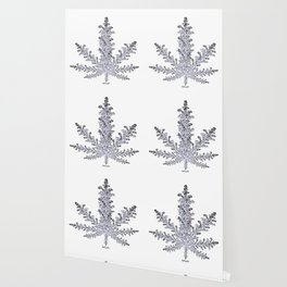 Cannabis Snow Flake Wallpaper