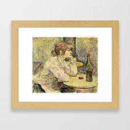 Henri De Toulouse Lautrec - The Hangover Framed Art Print