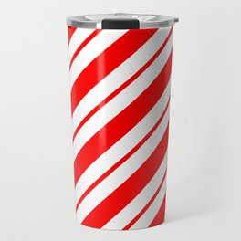 Peppermint Stripes Travel Mug