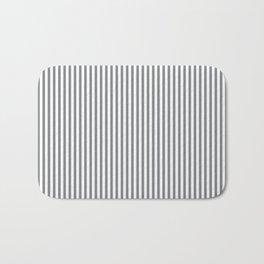 Sharkskin Stripes Bath Mat