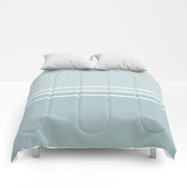 Lines Blue Grey Comforters