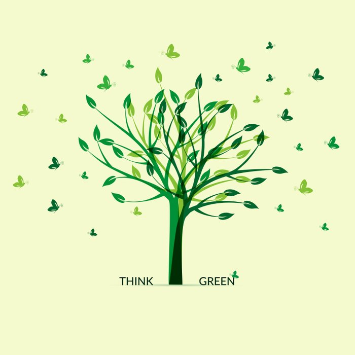 Think green! Comforters