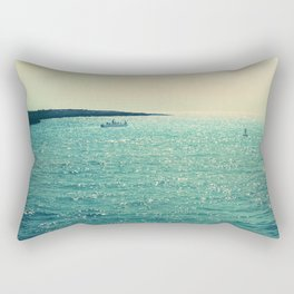Sea is Always in your Mind Rectangular Pillow