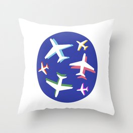 Oh The Places! Throw Pillow