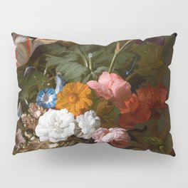 Rachel_Ruysch_-_Vase_with_Flowers_-_1700_-_Mauritshuis_151.jpg Pillow Sham