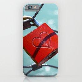 Salzburg Love Lock iPhone Case