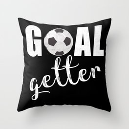 Goal Getter Throw Pillow