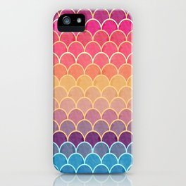 Watercolor Lovely Pattern VVIV iPhone Case
