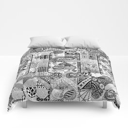 The Letter H Comforters