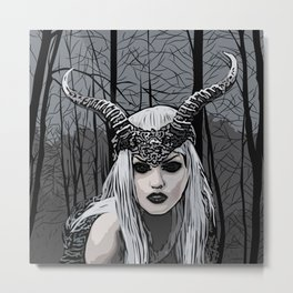 Wild witch Metal Print