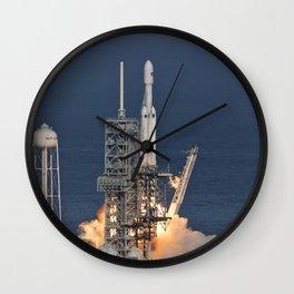 1062. SpaceX Falcon Heavy Demo Flight - Liftoff Wall Clock