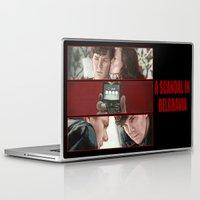 scandal Laptop & iPad Skins featuring A Scandal in Belgravia by Alessia Pelonzi