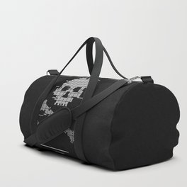 Loading death 8bit art Duffle Bag