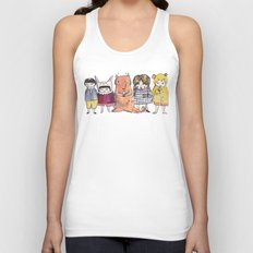 Moo Friends Unisex Tank Top