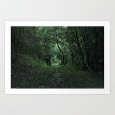 green portal Art Print