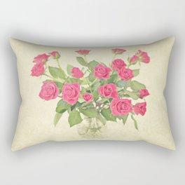 Bouquet of Roses Rectangular Pillow