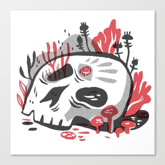 Skill and Mushroom Canvas Print
