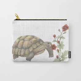 Desert Tortoise & Mallow Carry-All Pouch