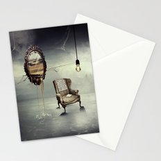 Reflection of truth Stationery Cards