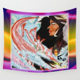 CHAKA STOLE THE NIGHT Wall Tapestry