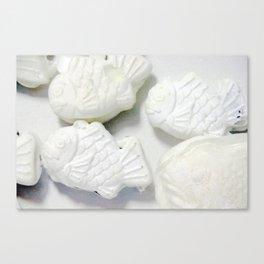 60pieces Fish-shaped Pancakes Canvas Print