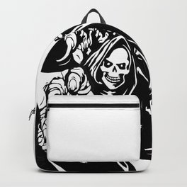 Death and Halloween Backpack