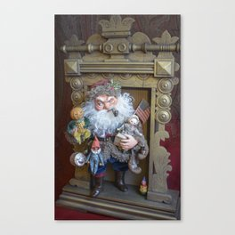Rucus Studio Santa Claus with Toys Canvas Print