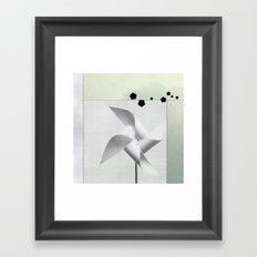 Du vent Framed Art Print
