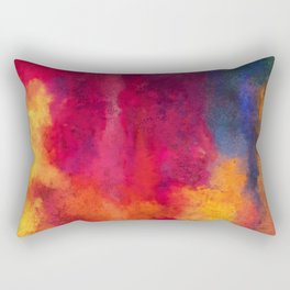 Colorful Thoughts 01 Rectangular Pillow