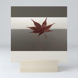 Last Leaf of Autumn Mini Art Print