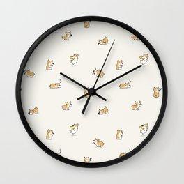 Corgi Collective Wall Clock