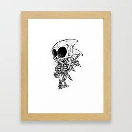 Sonic Bones Framed Art Print