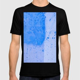 Stonewall in Pale Cerulean and Cyan T-shirt