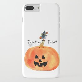Trick or Treat iPhone Case