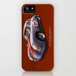 Porsche 356 Illustration iPhone Case