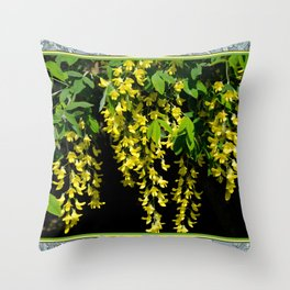 GOLDEN CHAIN TREE LABURNUM ALPINUM Throw Pillow