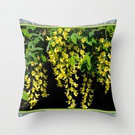 GOLDEN CHAIN TREE LABURNUM ALPINUM Throw Pillow