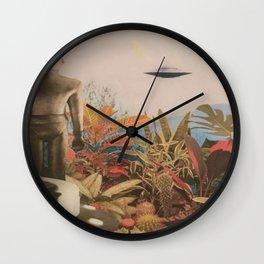 Alien Vibes Wall Clock