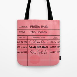 THE BREAST (1972) Tote Bag