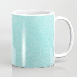 Pastel Teal Blue Grunge Ombre Pastel Texture Vintage Style Coffee Mug