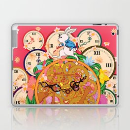Running with time Laptop & iPad Skin