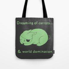 Dreaming of carrots Tote Bag