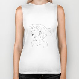 Air In My Hair Biker Tank
