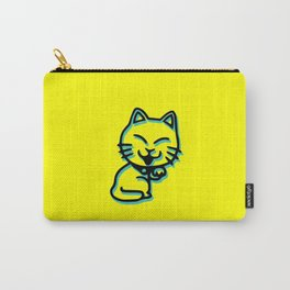 Cartoon Cat Carry-All Pouch