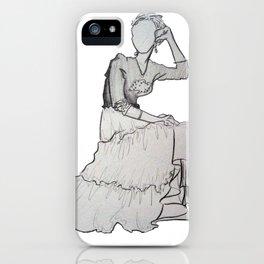 Fashion Skirt iPhone Case