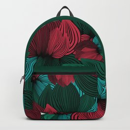 Big Flowers Backpack