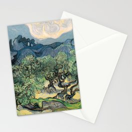 Vincent van Gogh, Olive Trees. Stationery Cards